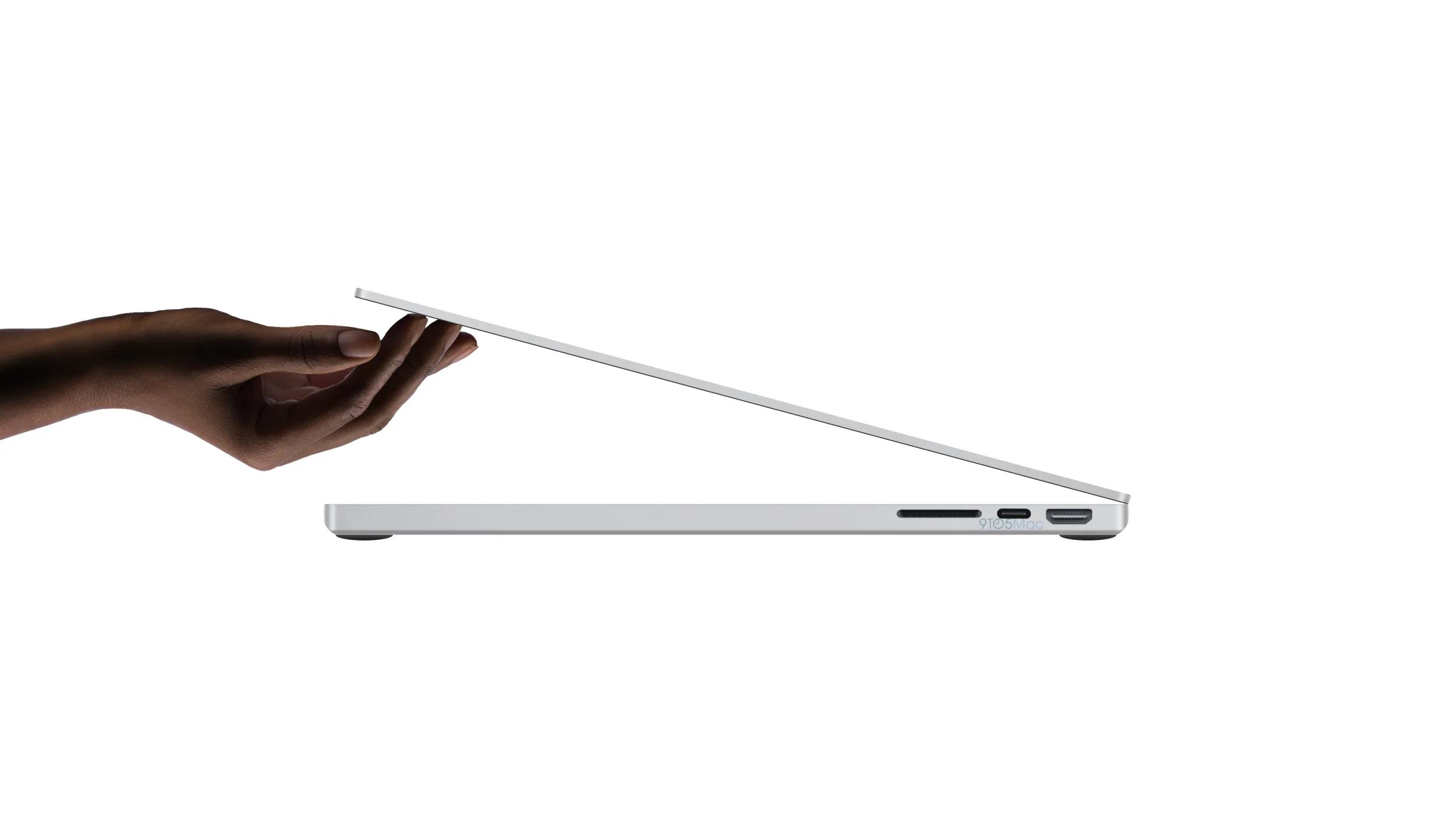 2021 MacBook Pro schematics show new design, HDMI port, SD ...